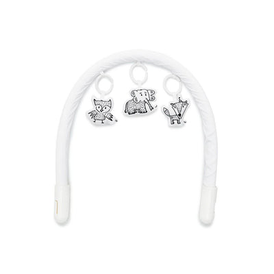 Sleepyhead Toy Arch + Toy Set Bundle - Pristine White + Cheeky Chums-Baby Gyms- Natural Baby Shower