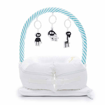 Sleepyhead Toy Bar - Aqua-Baby Gyms-Aqua- Natural Baby Shower