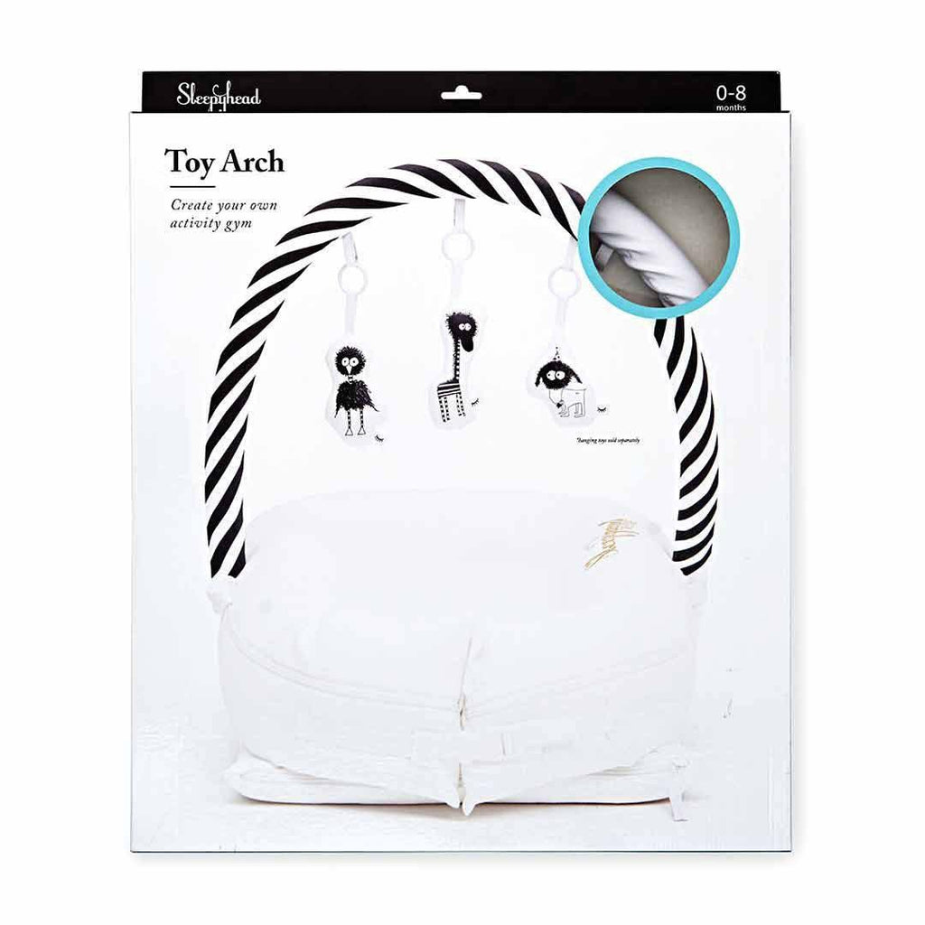 Sleepyhead Toy Bar - Pristine White-Baby Gyms-Pristine White- Natural Baby Shower
