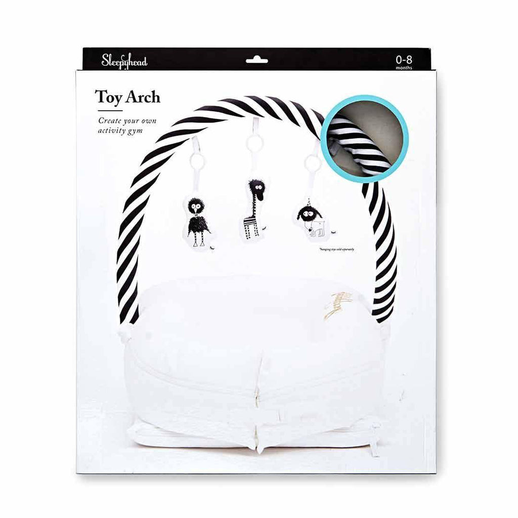 Sleepyhead Toy Bar - White & Black Box