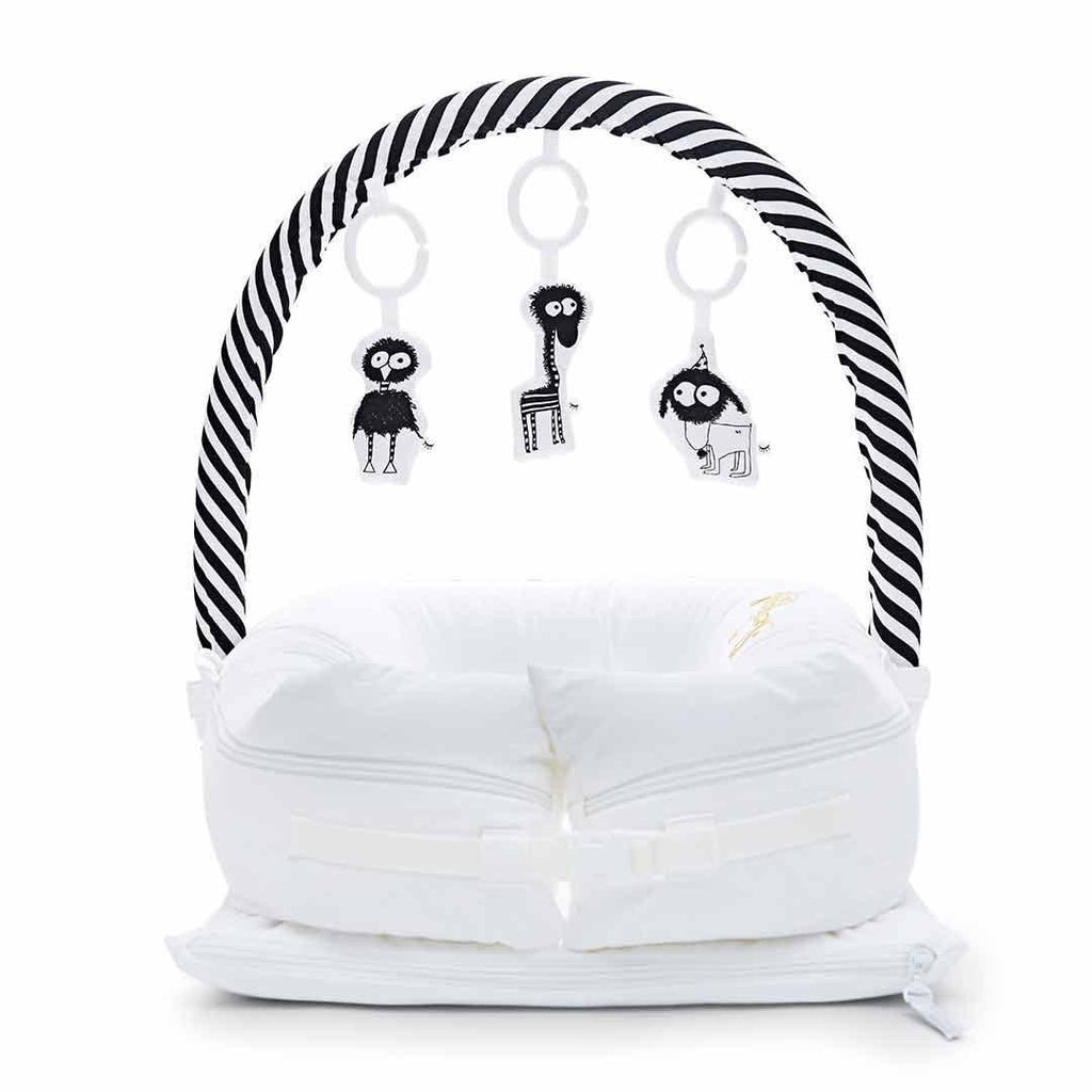 Sleepyhead Toy Bar - White & Black-Baby Gyms-White & Black- Natural Baby Shower