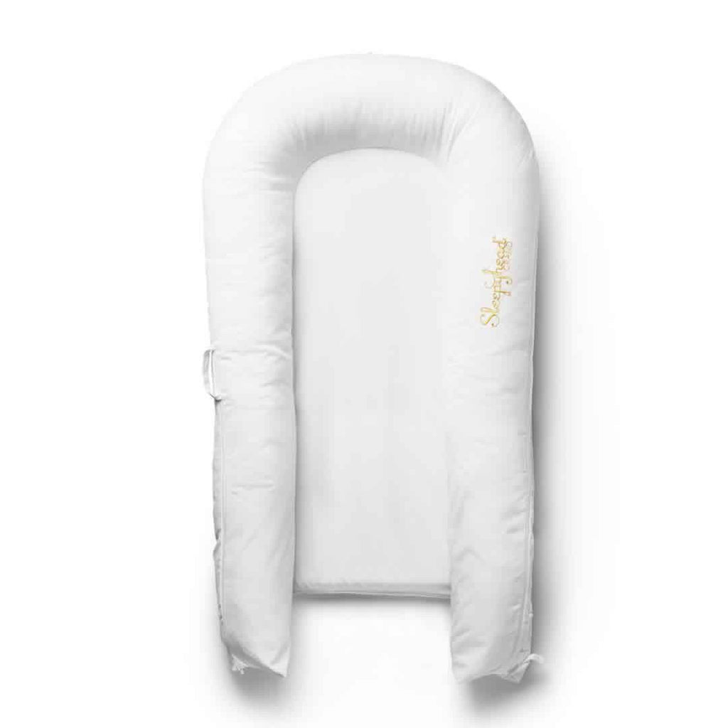 Sleepyhead Grand Spare Cover - Pristine White - Sleep Positioner Covers - Natural Baby Shower