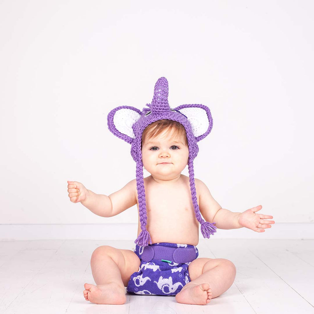 TotsBots PeeNut Wrap - Smelliphant-Nappy Wraps- Natural Baby Shower