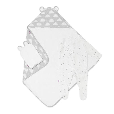 Snuz Baby Bath & Bed Set - Cloud Nine-Towels & Robes-Cloud Nine-One Size- Natural Baby Shower