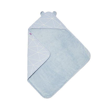 Snuz Baby Hooded Towel - Geo Breeze-Towels & Robes-Geo Breeze-One Size- Natural Baby Shower