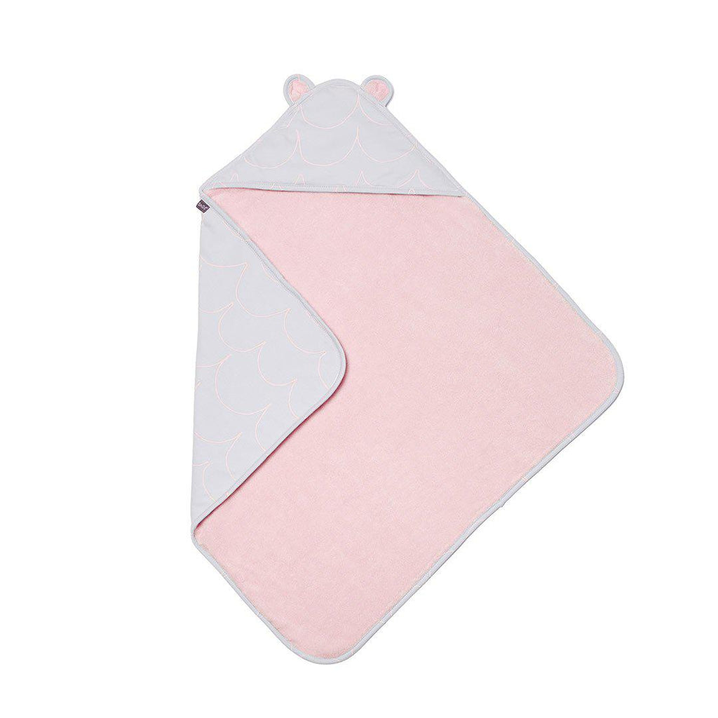 Snuz Baby Hooded Towel - Wave Rose-Towels & Robes-Wave Rose-One Size- Natural Baby Shower