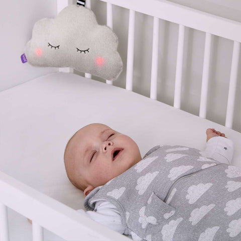 Snuz Cloud 3-in-1 Sleep Aid - Grey-Baby Mobiles- Natural Baby Shower