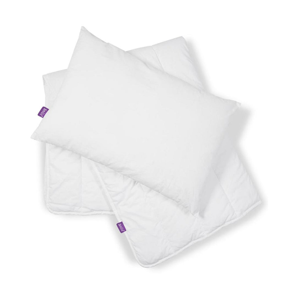 Snuz Cot Duvet and Pillow Bundle-Bedding Sets- Natural Baby Shower