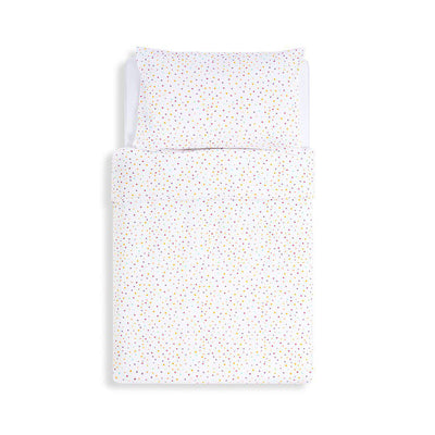 Snuz Duvet Cover & Pillowcase Set - Colour Spots-Bedding Sets- Natural Baby Shower