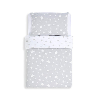 Snuz Duvet Cover & Pillowcase Set - Stars-Bedding Sets- Natural Baby Shower
