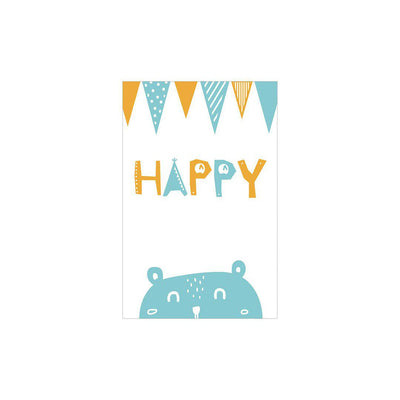 Snuz Happy Nursery Print - Blue-Artwork & Stickers- Natural Baby Shower