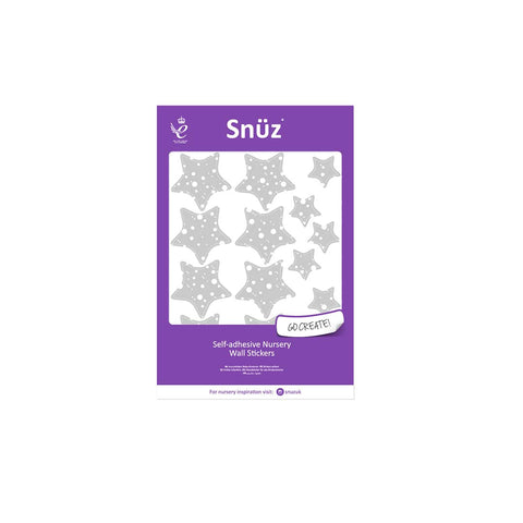 Snuz Nursery Wall Stickers - Clouds and Stars-Artwork & Stickers- Natural Baby Shower