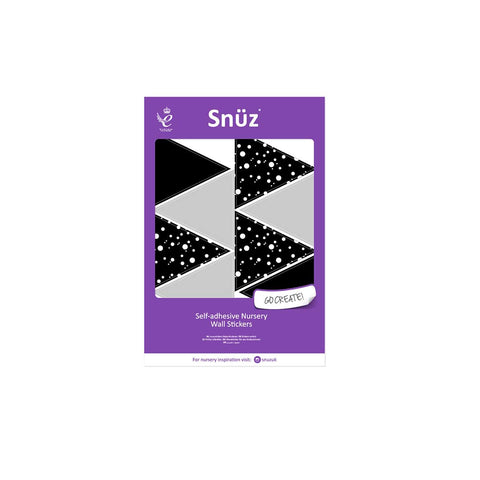 Snuz Nursery Wall Stickers - Geometric Triangles-Nursery Accessories- Natural Baby Shower