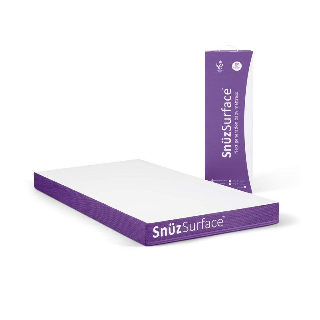 SnuzSurface SnuzKot Mattress - 68 x 118-Mattresses- Natural Baby Shower