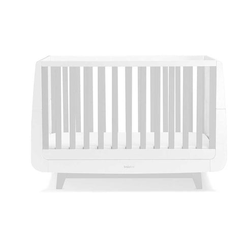 SnuzKot Luxe Cot Bed - Grey-Cot Beds- Natural Baby Shower