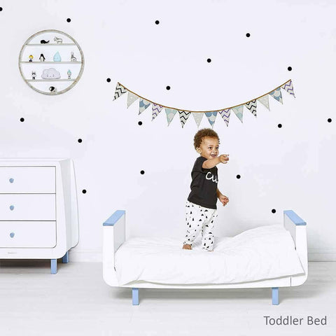 SnuzKot Mode 2 Piece Nursery Furniture Set - Blue Lifestyle 2