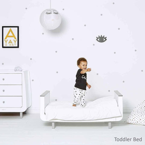 SnuzKot Mode 2 Piece Nursery Furniture Set - Grey Lifestyle 1