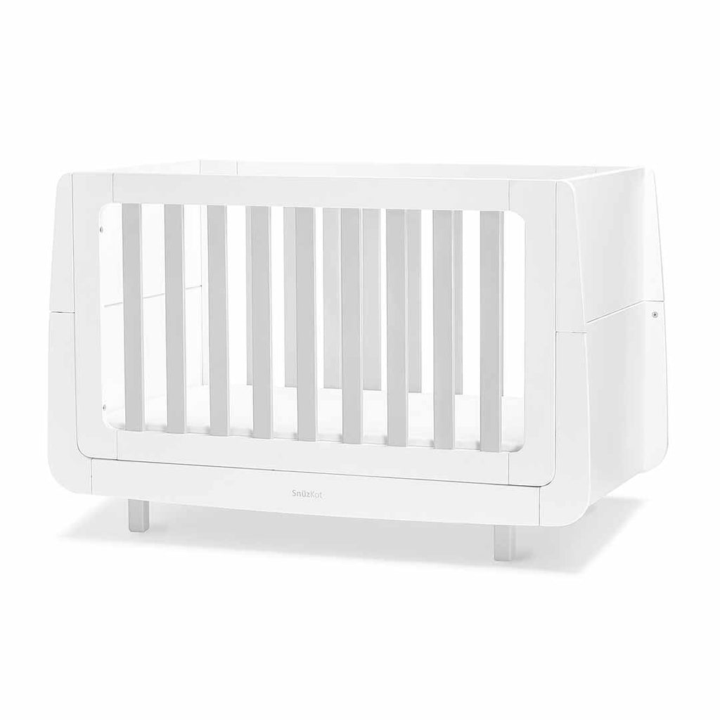 SnuzKot Mode Cot Bed - Grey-Cot Beds- Natural Baby Shower