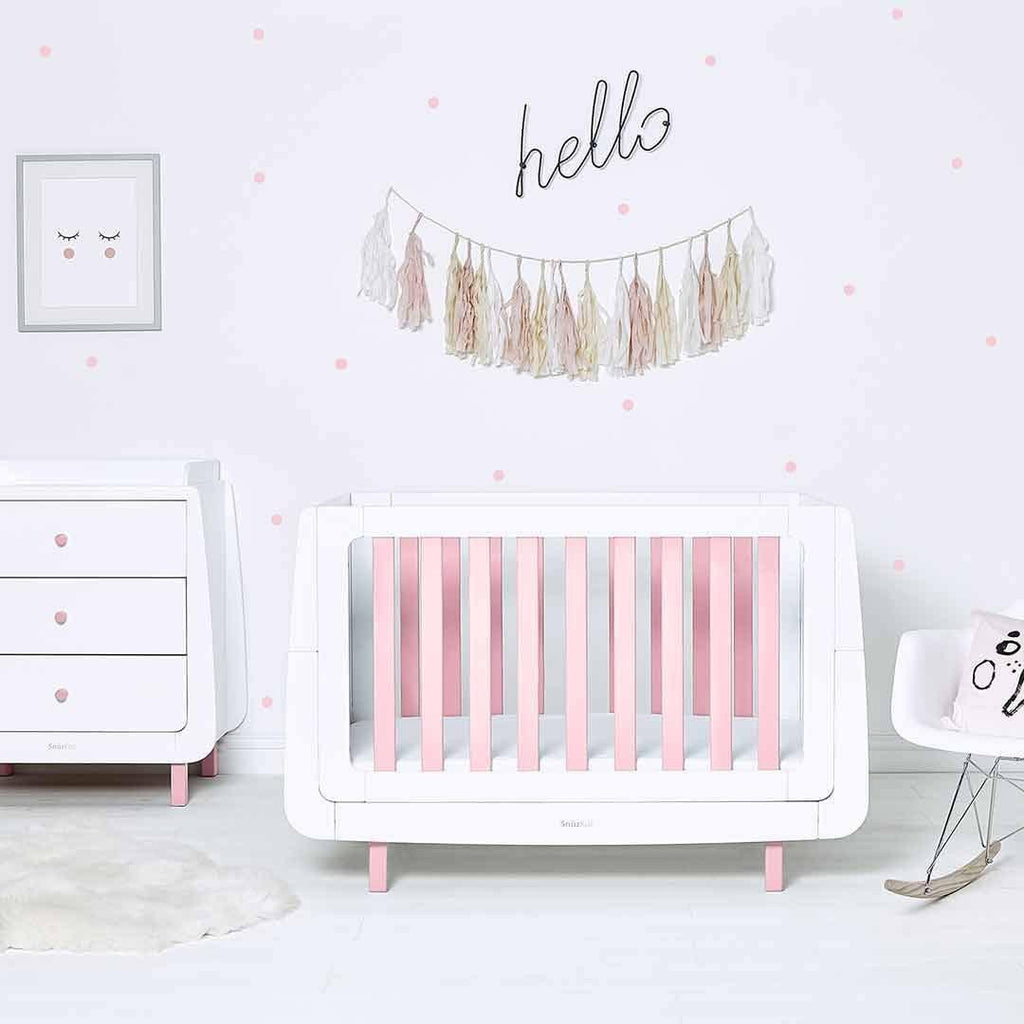 SnuzKot Mode Changing Unit - Pink-Changing Tables- Natural Baby Shower