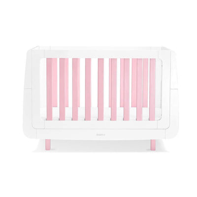 SnuzKot Mode Cot Bed - Pink-Cot Beds- Natural Baby Shower
