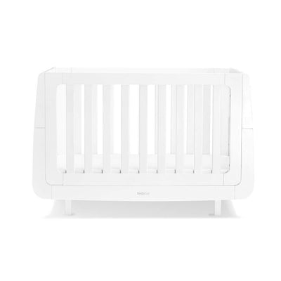 SnuzKot Mode Cot Bed - White-Cot Beds- Natural Baby Shower
