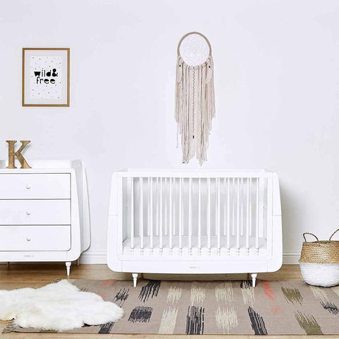 SnuzKot Rococo Changing Unit - White-Changing Tables- Natural Baby Shower