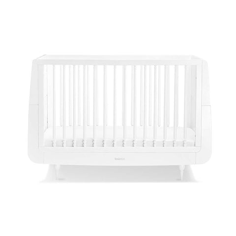 SnuzKot Rococo Cot Bed - White-Cot Beds- Natural Baby Shower