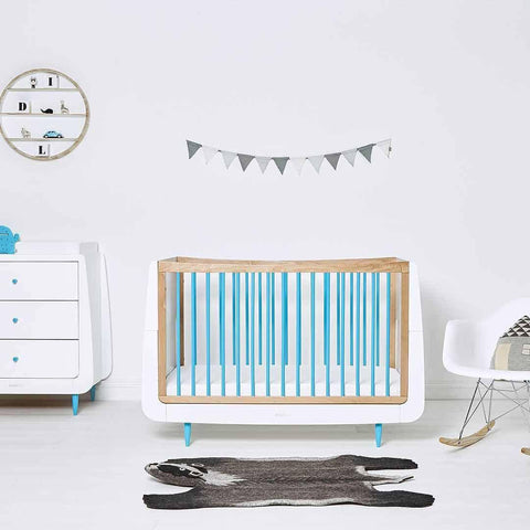 SnuzKot Skandi Changing Unit - Blue-Changing Tables- Natural Baby Shower