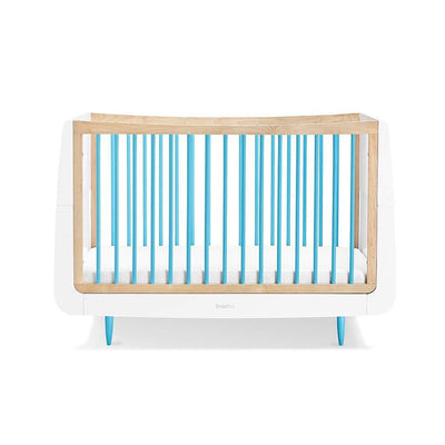 SnuzKot Skandi Cot Bed - Blue-Cot Beds- Natural Baby Shower