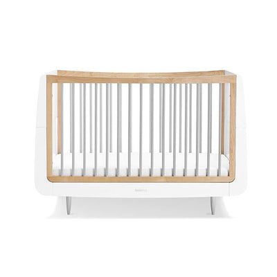 SnuzKot Skandi Cot Bed - Grey-Cot Beds- Natural Baby Shower