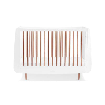 SnuzKot Skandi Cot Bed - Metallic - Rose Gold-Cot Beds- Natural Baby Shower