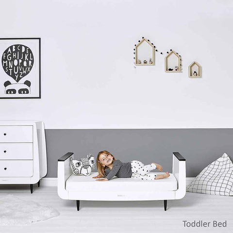 SnuzKot Skandi 2 Piece Nursery Furniture Set - Mono Lifestyle 1