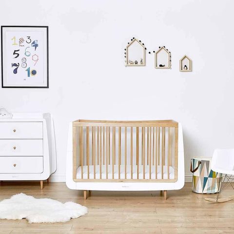 SnuzKot Skandi Changing Unit - Natural-Changing Tables- Natural Baby Shower