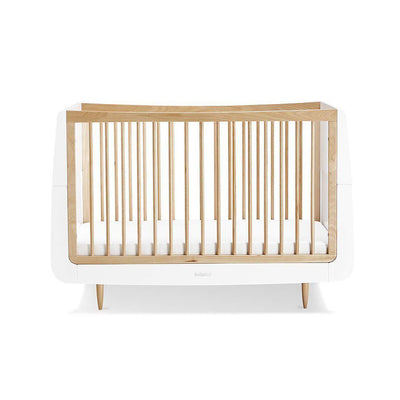 SnuzKot Skandi Cot Bed - Natural-Cot Beds- Natural Baby Shower