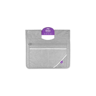 SnuzPod 3 Storage Pocket - Dusk Grey-Storage Pockets- Natural Baby Shower