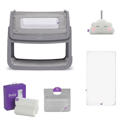 SnuzPod4 Bedside Crib + Accessories Bundle - Urban-Cribs-Default- Natural Baby Shower
