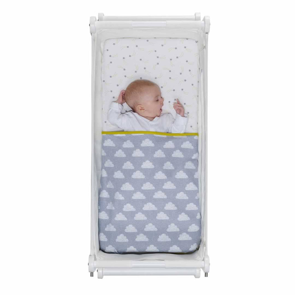 Snuz 3pc Crib Bedding Set - Cloud Nine-Bedding Sets- Natural Baby Shower