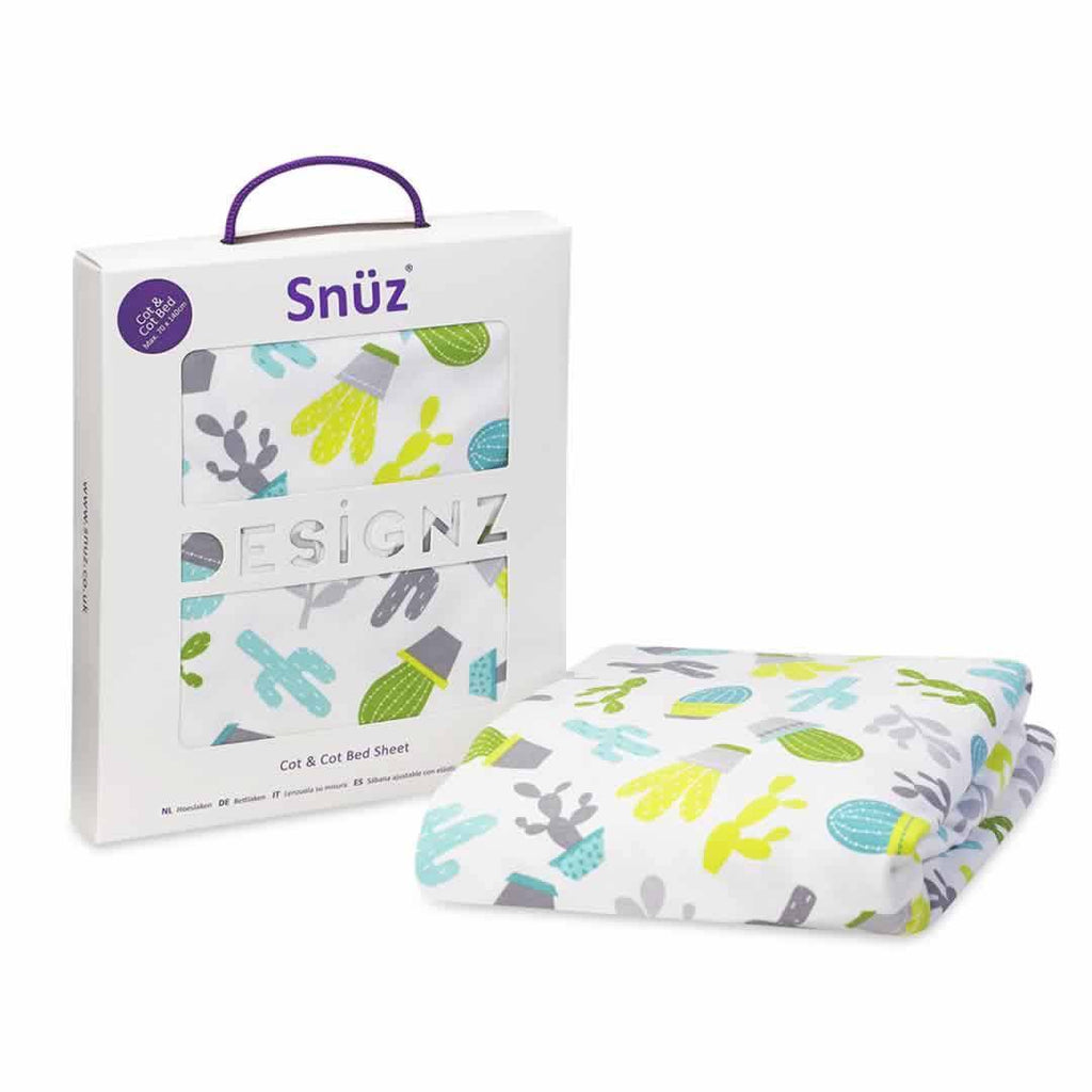 SnuzPod Cot/Cot Bed Sheet in Rootin' Tootin'