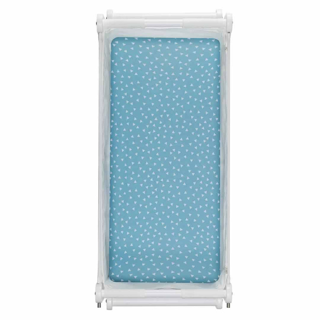 SnuzPod Twin Pack Crib Sheet Rootin' Tootin' Blue
