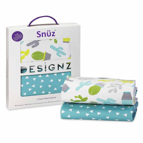 SnuzPod Twin Pack Crib Sheet in Rootin' Tootin'