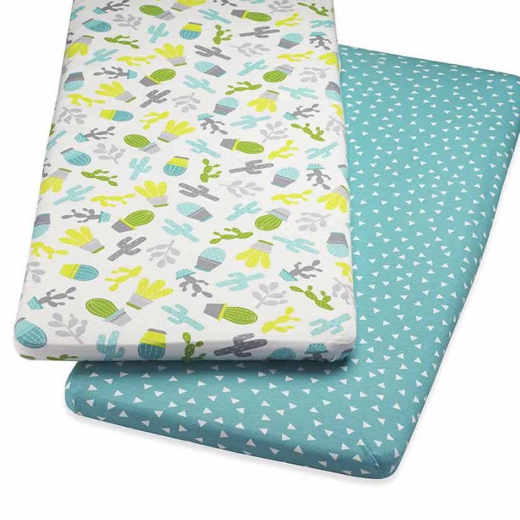 SnuzPod Twin Pack Crib Sheet Rootin' Tootin'