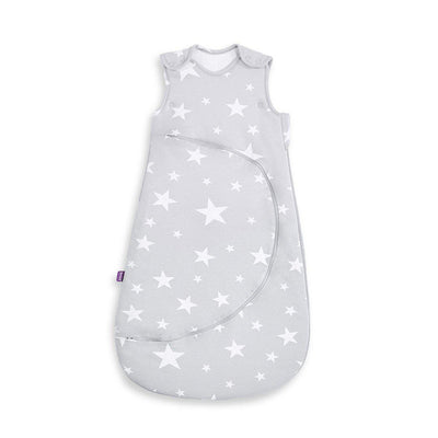 SnuzPouch Sleeping Bag - 1 TOG - White Stars-Sleeping Bags-0-6m-White Stars- Natural Baby Shower