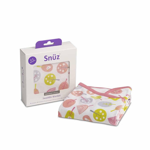 Snuz Swaddle Blanket Little Tweets