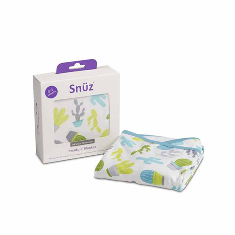 Snuz Swaddle Blanket - Rootin' Tootin' - Swaddling Wraps - Natural Baby Shower