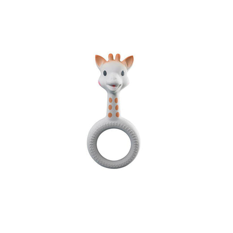 Sophie La Giraffe So Pure Ring Teether-Teethers-Default- Natural Baby Shower