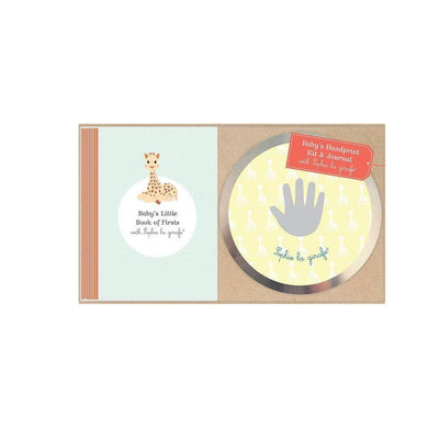 Sophie la Girafe - Handprint Kit + Journal-Gift Sets-Default- Natural Baby Shower