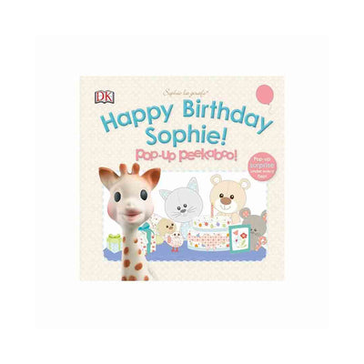 Sophie la Giraffe - Happy Birthday Sophie!-Books-Default- Natural Baby Shower