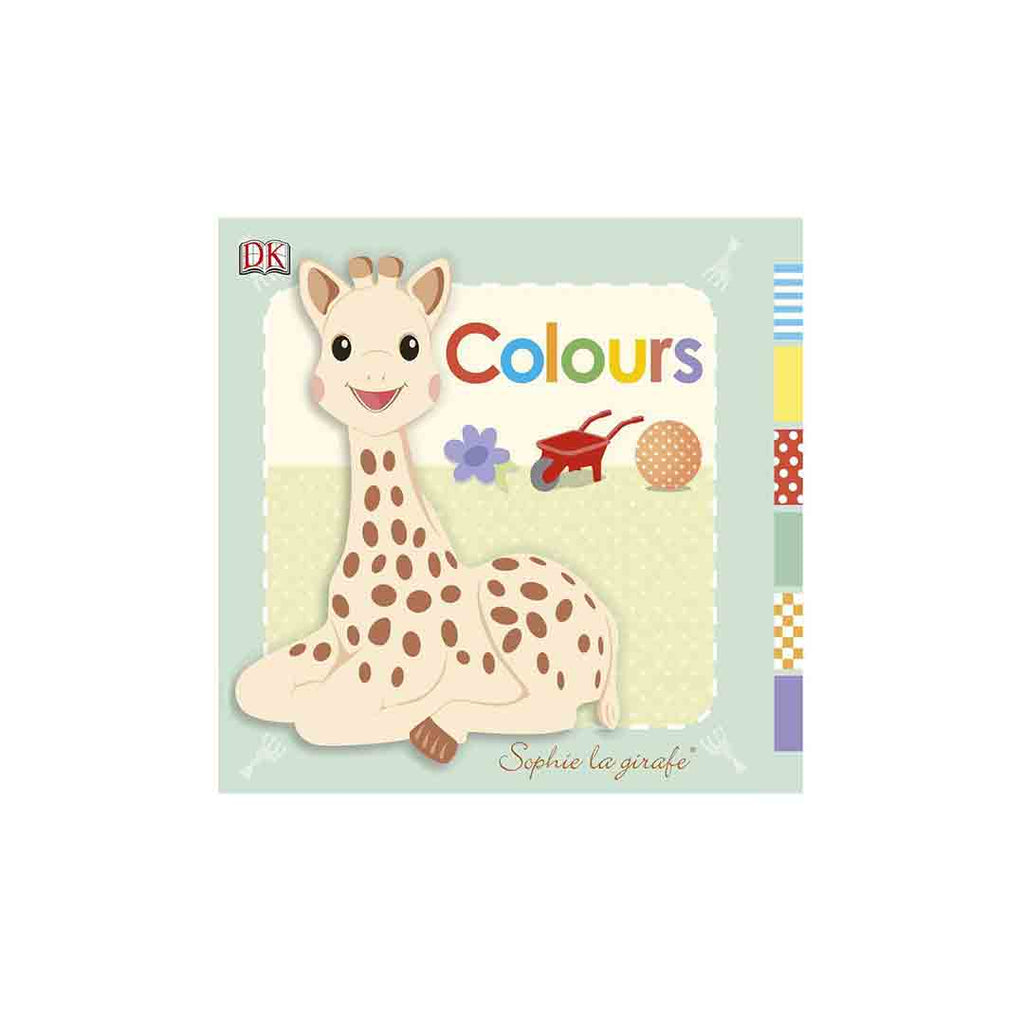 Sophie la Giraffe Book - Colours-Books-Default- Natural Baby Shower