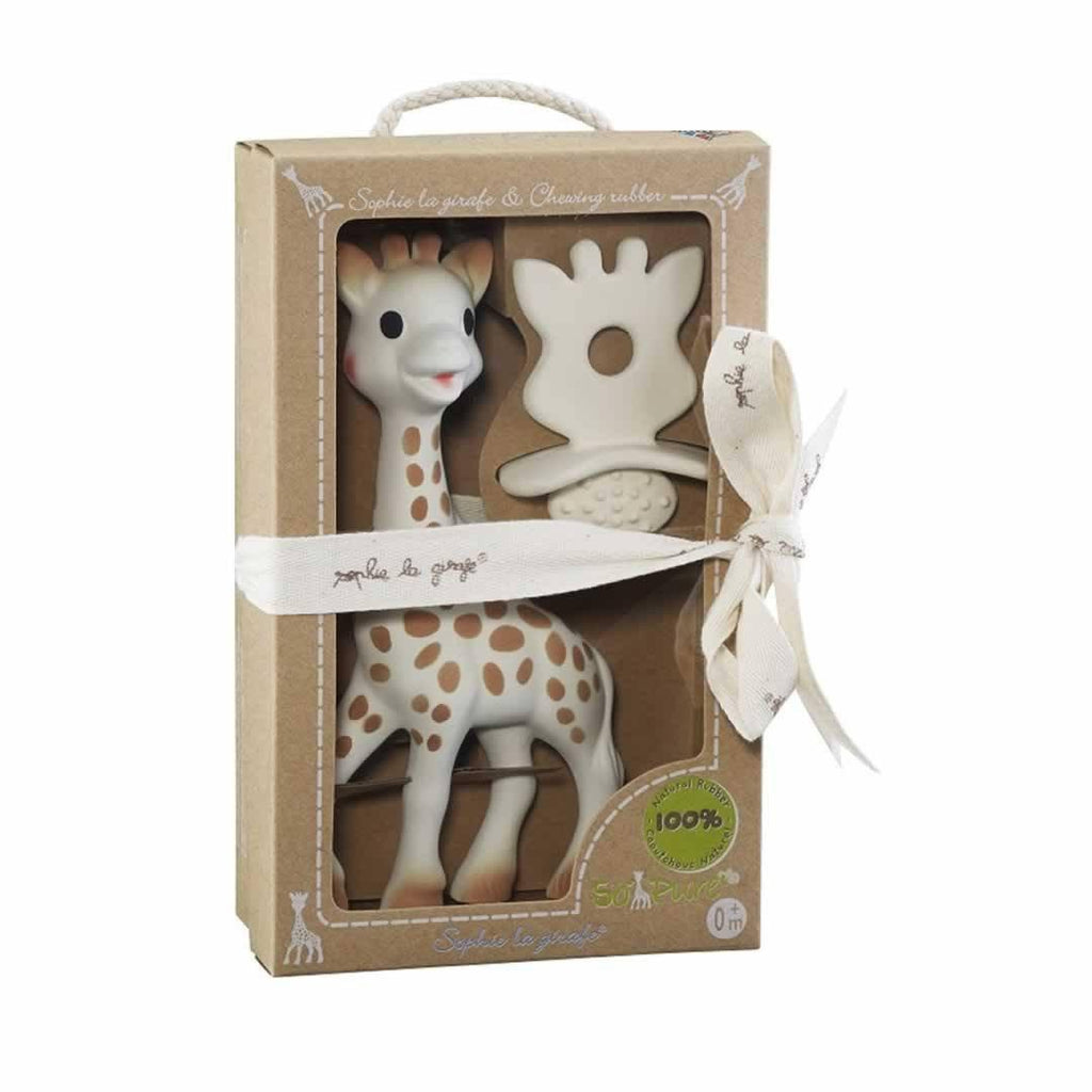 Sophie la Giraffe So Pure - Natural Teether Set