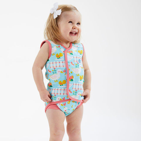 Splash About BabyWrap - 5 Little Ducks-Swimwear- Natural Baby Shower